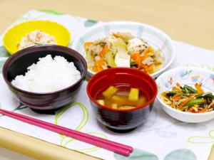 食事例の写真